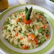 Risotto ze szparagami (Risotto agli asparagi)