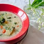 Zupa z pokrzywy.