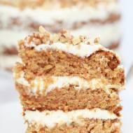 Ciasto marchewkowe z puszystym kremem