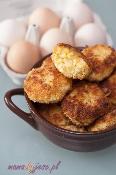 Kotlety z jajek i pora