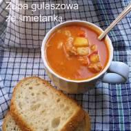Błyskawiczne piątki - Zupa gulaszowa ze śmietanką