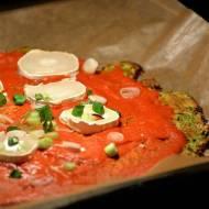 Cukiniowy spód do pizzy