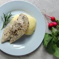 Pieczona pierś z kurczaka z ziołami