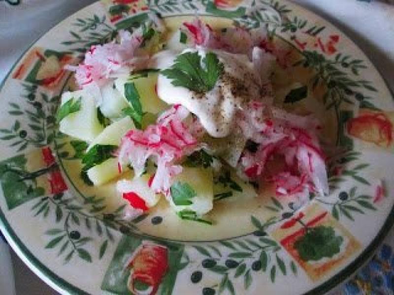 Przepis Na Kartoffelsalat Salatka Ziemniaczana Ze Smietana
