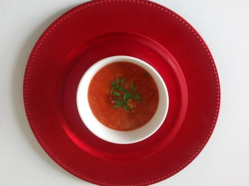 Z suszonymi pomidorami i kaszą jęczmienną