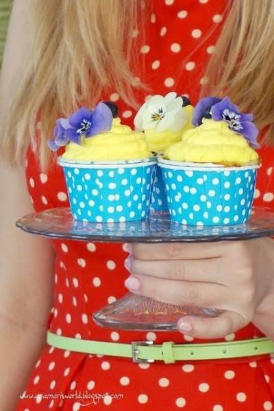 Muffiny z kremem cytrynowym na Dzień Matki