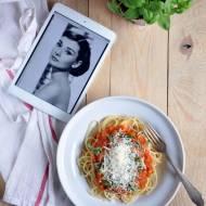 Spaghetti al pomodoro – ulubiona pasta Audrey Hepburn
