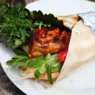 Grillowana tortilla z kurczakiem teriyaki – dookoła świata