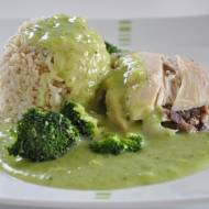 Potrawka z kurczaka na zielono