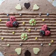 Torcik kakaowy na urodziny mojej 2-latki