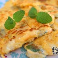 Omlet miętowy