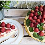 Tort podwójnie truskawkowy
