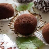 Pralinki czekoladowe z płatków owsianych