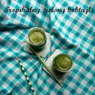 Tropikalny zielony koktajl