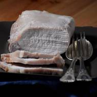 Schab pieczony w soli