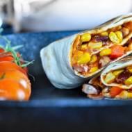 Meksykańska tortilla czyli wege burrito