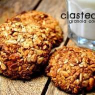 Ciasteczka śniadaniowe - granola cookies