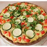 Tarta z warzywami z ziarna teff (bezglutenowa, wegańska)