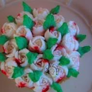 Babeczki waniliowe + kwiatowe dekoracje (rosyjskie tylki)
