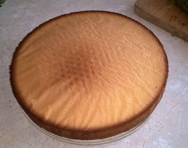 Idealny jasny biszkopt - do tortów i nie tylko