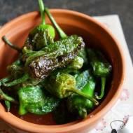 Pimientos de Padrón, czyli zielone papryczki z Galicji