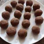 Czekoladowe trufle z mąki kokosowej…
