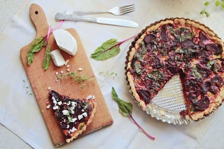 Tymiankowa tarta z botwiną dumą wiosennej kuchni