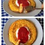Kolejna wersja zdrowego omleta na słodko