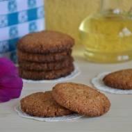 Ciasteczka owsiano-migdałowe