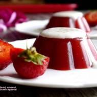 Galaretka truskawkowa z agarem