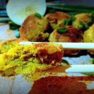 obłędne kotleciki curry z tuńczka