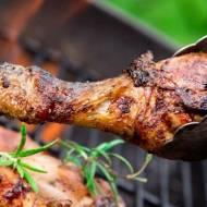 Podudzia z kurczaka z grilla z sosem Jalapeno Pepper Relish