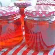 Kompot z truskawek do słoików