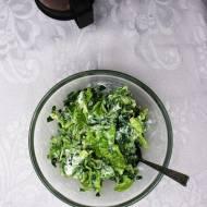 Surówka z nowalijekj (do obiadu)