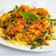 Zapiekanka warzywna z patelni
