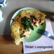 Błyskawiczne piątki - Omlet z warzywami