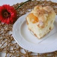 Ciasto drożdżowe (bez jajek) z owocami i kruszonką