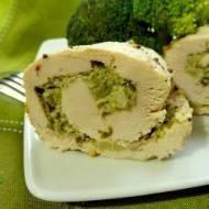 Roladki z brokułem