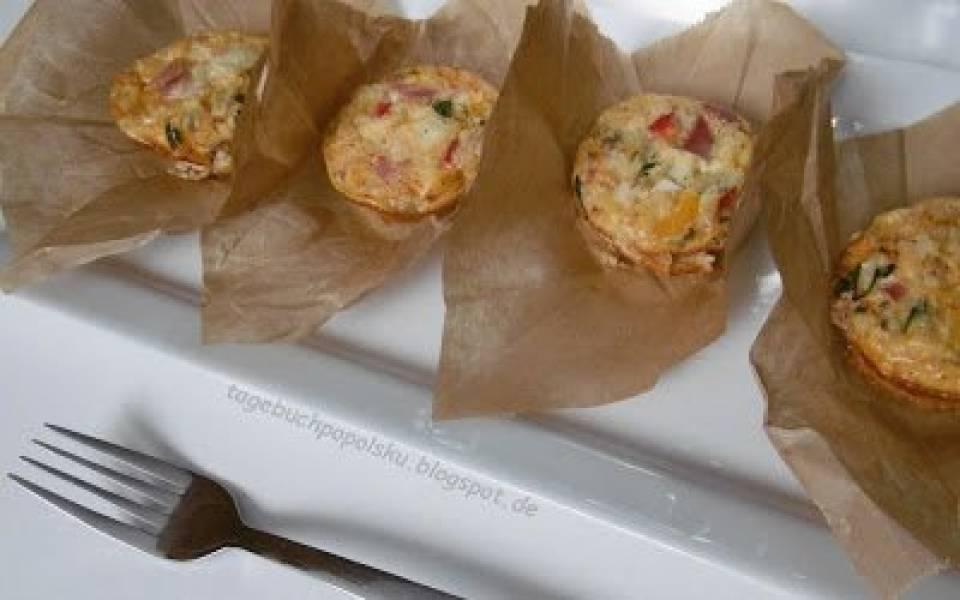 Muffiny śniadaniowe na słono