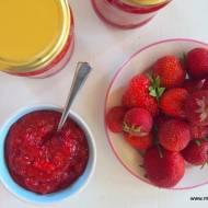 Dżem truskawkowy bez cukru (janginizacja)