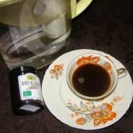 pyszna kawa bio z kardamonem...