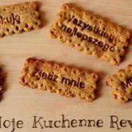 Pyszne i zdrowe ciasteczka orkiszowe :)