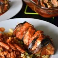 Greckie smaki w szaszłykach z kurczaka