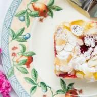Proste i szybkie ciasto z owocami.