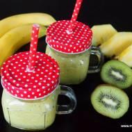 Smoothie z ananasem, kiwi i bananem - bez cukru, laktozy i glutenu