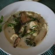 Tajska zupa curry z warzywami