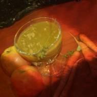 prosto z działki ,sok z całej marchewki