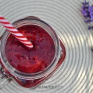 Koktajl maliny + jagody + awokado