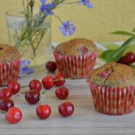 Muffinki wiśniowe z makiem