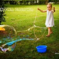 Bańkomat czyli jak zrobić kijki i płyn do baniek :)